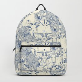just goats classic blue pearl Backpack
