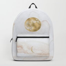Full Moon Ease, Rose Gold Backpack