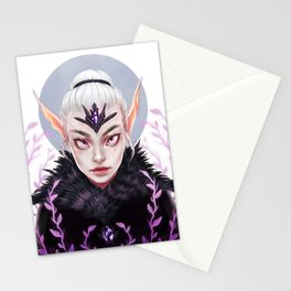 Elf Nature Witch Stationery Cards