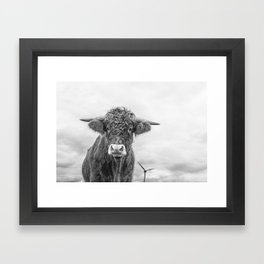 Size Is Relative Framed Art Print