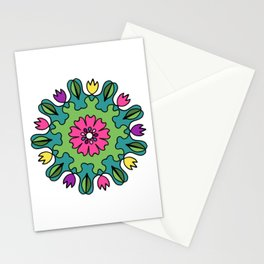 Tulip Delights Mandala Stationery Cards