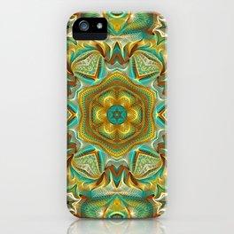 Flower Of Life Mandala (Summer & Fall) iPhone Case