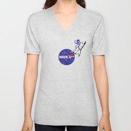 Nice Ass NASA Unisex V-Neck