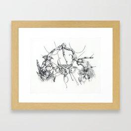 Mind Games Framed Art Print