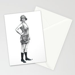 1920s Bathing Beauty Stationery Cards