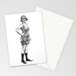 1920s Bathing Beauty Stationery Cards