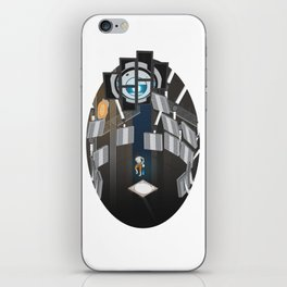 Portal 2 Isometric Poster iPhone Skin