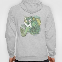 Mermaid Green Hoody