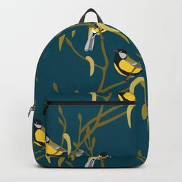 view in the garden Backpack
