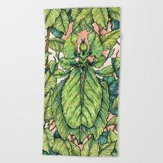 Leaf Mimic Beach Towel