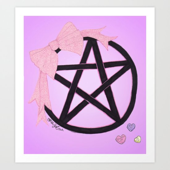 Charm Me Art Print