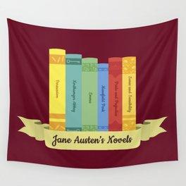 The Jane Austen's Novels III Wall Tapestry