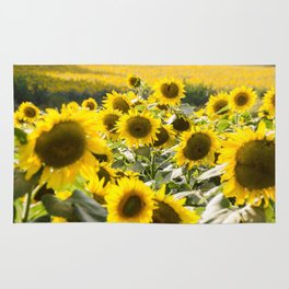 Sunflowers 13 Rug