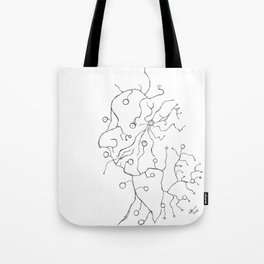 Synapse Face Tote Bag
