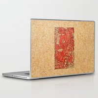 wood Laptop & iPad Skins featuring - wood - by Magdalla Del Fresto
