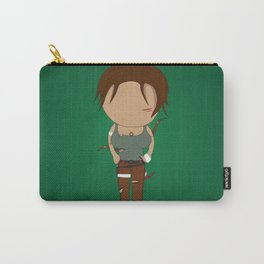 Minimalist lara croft Carry-All Pouch