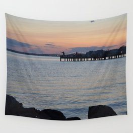 Seaside Fisherman Wall Tapestry