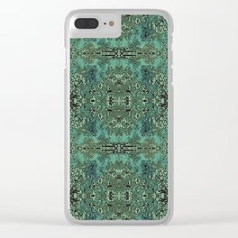 zakiaz forest Clear iPhone Case