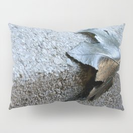 Metal Leaf Pillow Sham