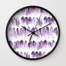 Amethyst - February Wall Clock