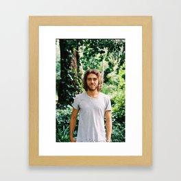 Matt Corby Framed Art Print