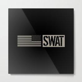 SWAT: Black Flag Metal Print