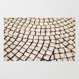 cobblestone pathway Rug
