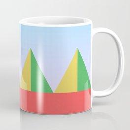 Pyramids in the Sun Coffee Mug