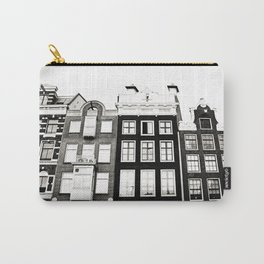 Traditional houses in Amsterdam, Netherlands. Carry-All Pouch