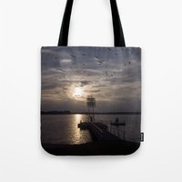 political Tote Bags featuring Paradise of the Former Political Upperclass of GDR by CAPTAINSILVA