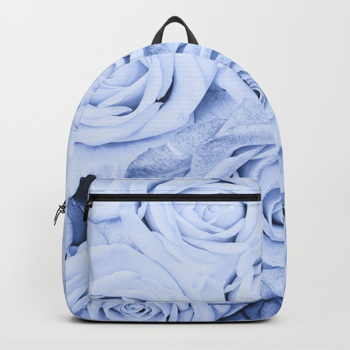Some people grumble - Blue Rose, Floral Roses Flower Flowers on  #Society6 Backpack