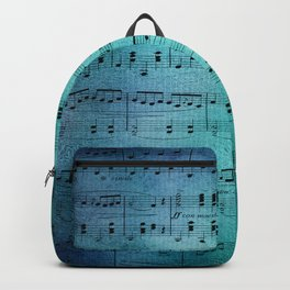 Painted Music Backpack