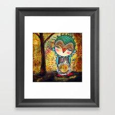 Autumn Wind Framed Art Print