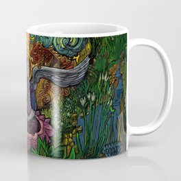 Meditation in the Garden Coffee Mug