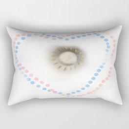 Pastel hearts Rectangular Pillow