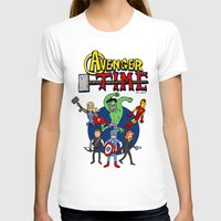 avenger T-shirts featuring Avenger Time by MattHercock
