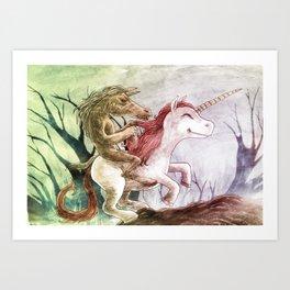 Tikbalang on  Unicorn Art Print