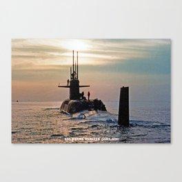 USS DANIEL WEBSTER (SSBN-626) Canvas Print