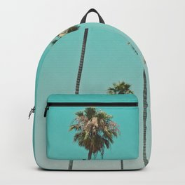 palm trees. las palmeras Backpack