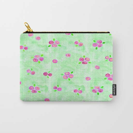 Roses Pattern 01 Carry-All Pouch