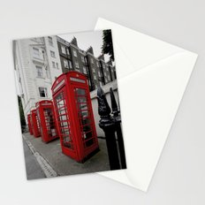 Phone Booths of London Stationery Cards
