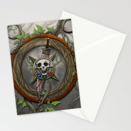 The Shattered Skull Stationery Cards