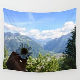 Beauty in the Alps Wall Tapestry