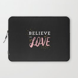 Believe in Love Laptop Sleeve