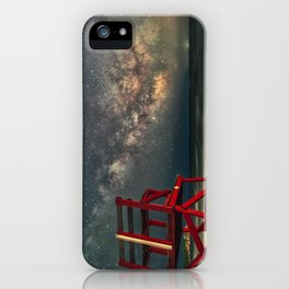 Milkyway at Good Harbor Beach 6-11-18 iPhone Case