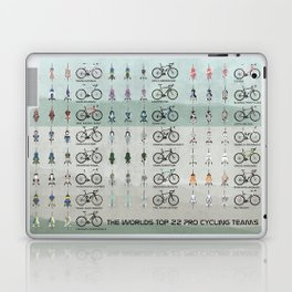 Pro Cycling Teams Laptop & iPad Skin