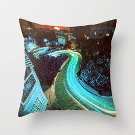 San Francisco Adventure Throw Pillow