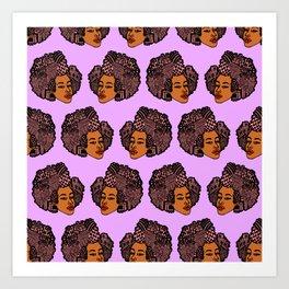 Tomi Repeat Pattern Art Print