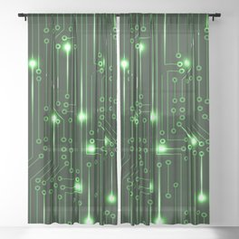 Matrix Sheer Curtain