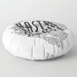 Hasta La Vitoria Siempre Floor Pillow